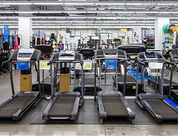 体育用品专卖店空间加香系统让这里的商品显得更有运动感
